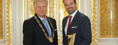 Złoty OTIS z Diamentami dla firmy Boehringer Ingelheim
